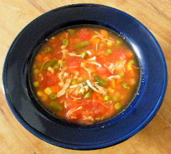 Easy Chicken Vegetable Soup