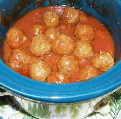 Cranberry Meatballs recipe
