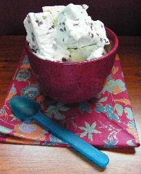 mint chocolate chip ice cream recipe