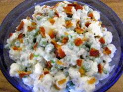 Crunchy Green Pea Salad