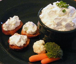 Vegie Bagel Spread Recipe