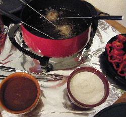 Tenderloin fondue