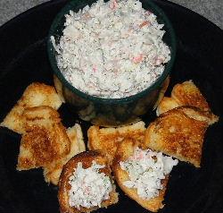 crab dip crab spread