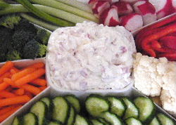 Dried Beef with Cream Cheese Dip