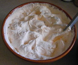 Orange Fluff Recipe with Cool Whip